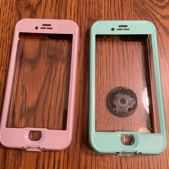 TWO lifeproof nuud iphone 8plus cases